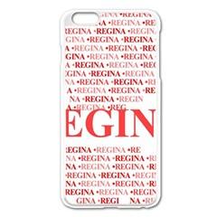 Regina Apple Iphone 6 Plus Enamel White Case