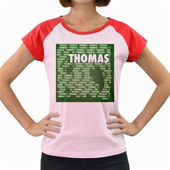 Thomas Women s Cap Sleeve T Shirt
