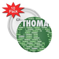 Thomas 2 25  Buttons (10 Pack)