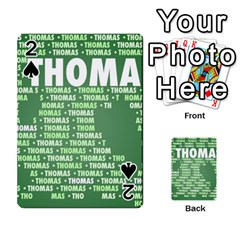 Thomas Playing Cards 54 Designs