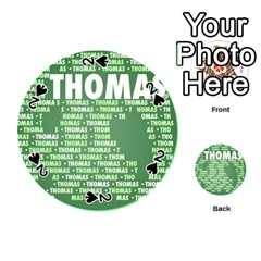Thomas Playing Cards 54 (round)