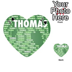 Thomas Playing Cards 54 (Heart)