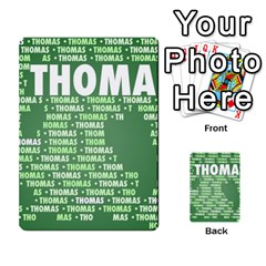 Thomas Multi-purpose Cards (Rectangle)