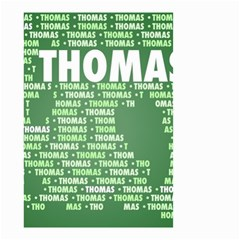 Thomas Small Garden Flag (two Sides)