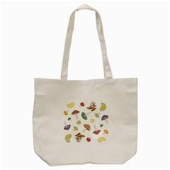 Mushrooms Pattern 02 Tote Bag (Cream)