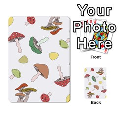 Mushrooms Pattern 02 Multi-purpose Cards (Rectangle)