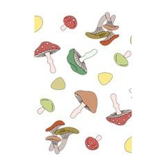 Mushrooms Pattern 02 Shower Curtain 48  X 72  (small)