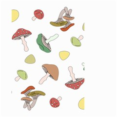 Mushrooms Pattern 02 Small Garden Flag (Two Sides)