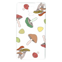 Mushrooms Pattern 02 Galaxy Note 4 Back Case
