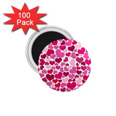 Heart 2014 0933 1 75  Magnets (100 Pack)