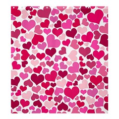 Heart 2014 0933 Shower Curtain 66  x 72  (Large)