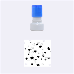 Heart 2014 0933 Rubber Round Stamps (Small)