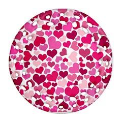 Heart 2014 0933 Ornament (Round Filigree)