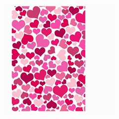 Heart 2014 0933 Large Garden Flag (Two Sides)
