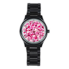 Heart 2014 0933 Stainless Steel Round Watches