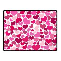 Heart 2014 0933 Double Sided Fleece Blanket (small)