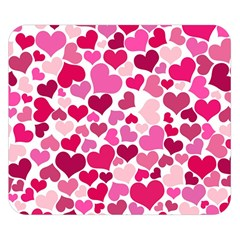 Heart 2014 0933 Double Sided Flano Blanket (small)