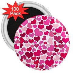 Heart 2014 0933 3  Magnets (100 Pack)