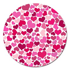 Heart 2014 0933 Magnet 5  (round)
