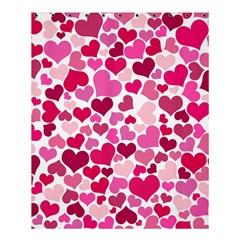 Heart 2014 0933 Shower Curtain 60  x 72  (Medium)