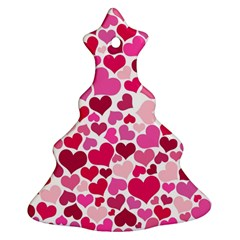 Heart 2014 0933 Christmas Tree Ornament (2 Sides)