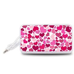 Heart 2014 0933 Portable Speaker (White)