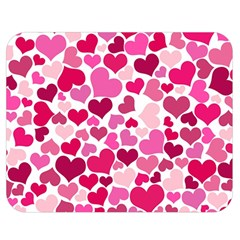 Heart 2014 0933 Double Sided Flano Blanket (Medium)