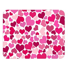 Heart 2014 0933 Double Sided Flano Blanket (Large)