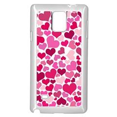 Heart 2014 0933 Samsung Galaxy Note 4 Case (white)