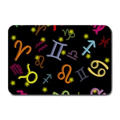 All Floating Zodiac Signs Plate Mats