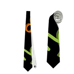 All Floating Zodiac Signs Neckties (One Side)