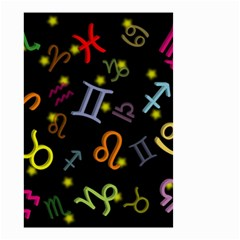 All Floating Zodiac Signs Small Garden Flag (two Sides)