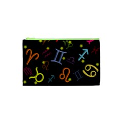 All Floating Zodiac Signs Cosmetic Bag (XS)