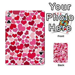 Heart 2014 0934 Playing Cards 54 Designs