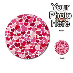 Heart 2014 0934 Multi Purpose Cards (round)
