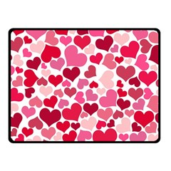 Heart 2014 0934 Fleece Blanket (Small)