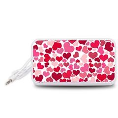 Heart 2014 0934 Portable Speaker (White)