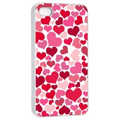 Heart 2014 0934 Apple iPhone 4/4s Seamless Case (White)
