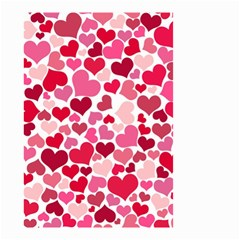 Heart 2014 0934 Small Garden Flag (Two Sides)