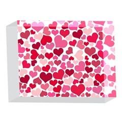 Heart 2014 0934 5 x 7  Acrylic Photo Blocks