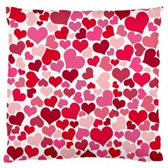Heart 2014 0934 Standard Flano Cushion Cases (one Side)