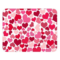 Heart 2014 0934 Double Sided Flano Blanket (Large)