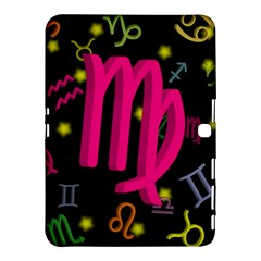 Virgo Floating Zodiac Sign Samsung Galaxy Tab 4 (10.1 ) Hardshell Case
