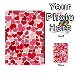 Heart 2014 0935 Multi-purpose Cards (Rectangle)