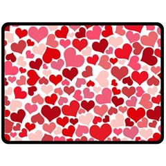 Heart 2014 0935 Fleece Blanket (Large)