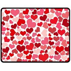 Heart 2014 0935 Fleece Blanket (medium)