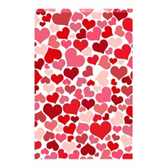Heart 2014 0935 Shower Curtain 48  x 72  (Small)