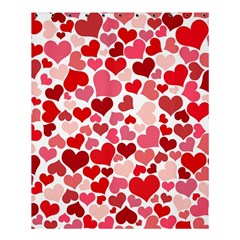 Heart 2014 0935 Shower Curtain 60  x 72  (Medium)