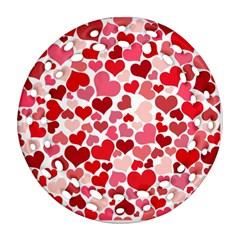 Heart 2014 0935 Ornament (round Filigree)