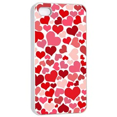 Heart 2014 0935 Apple Iphone 4/4s Seamless Case (white)